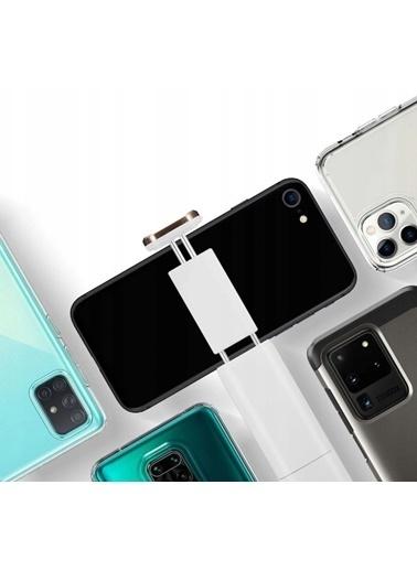 Spigen Bluetooth Selfie Çubuğu Led Işıklı, Spigen Tüm Cihazlara Uyumlu S550W Beyaz